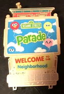 Sesame place pin parade blind box neighborhood