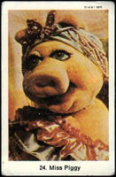Sweden swap gum cards 24 miss piggy 2