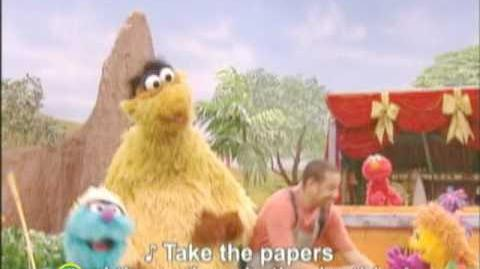 Takalani Sesame (South Africa) Pollution Song