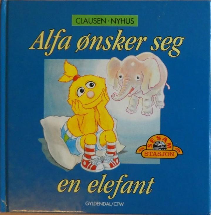 Alfa-oensker-seg-en-elefant