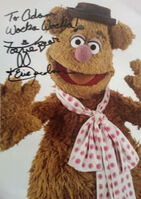 Signed fozzie eric jacobson