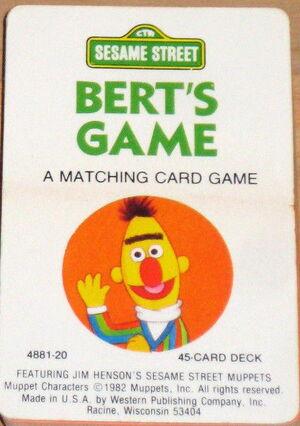 Berts game