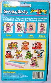 Colorforms 1985 muppet babies shrinky dinks set 2