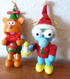 Enesco dakin muppet babies christmas ornaments 1