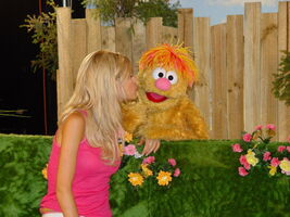 February 2004 Sophie Monk and Ollie