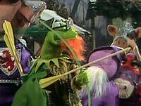 Kermit Robin Hood disguise