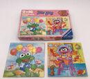 Muppet Babies puzzles (Ravensburger)
