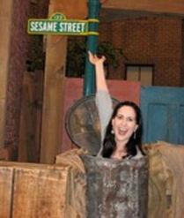 Oscar's trash can, Stephanie D'Abruzzo