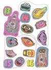 Sesame Street in Space Sticker Book 021