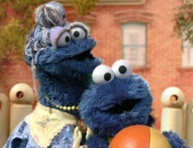 Baby cookie monster 2