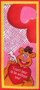 Gibson greetings 1990 muppet valentines 4b