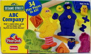 Playskool play-doh 1994 sesame abc company 1