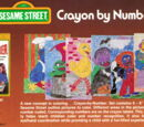 Sesame Street Crayon By Number (Avalon)