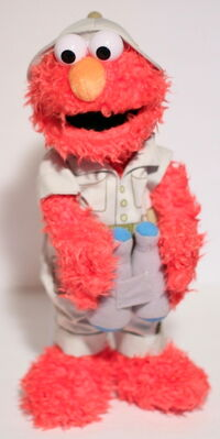 Busch gardens elmo safari plush 1