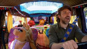 Carpool Karoke Muppets Jason Sudeikis