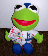 Direct connect 1991 baby kermit when i grow up doll