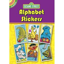 Dover classic alphabet stickers