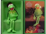 Kermit stocking hanger