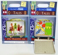 Lunch time tales pin
