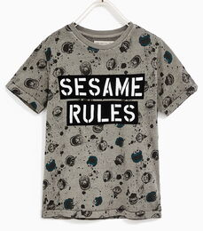Zara sesame rules shirt
