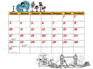 1978 calendar 12 December b
