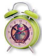 Clock alarm kermit