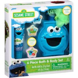Cookie mosnter bath body