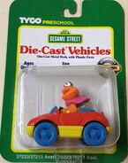 Zoe sports car on card