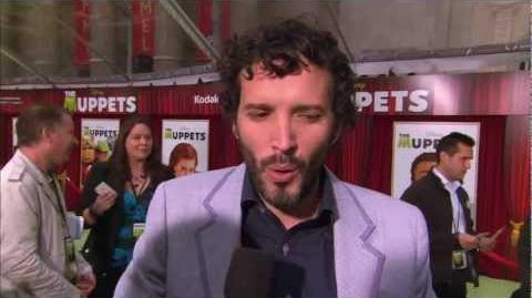 Bret McKenzie (Flight of the Conchords) Interviewed at The Muppets World Premiere
