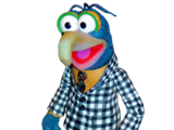 Checkered Suit Gonzo Action Figure