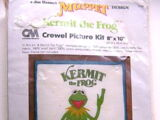 Muppet crewel picture kits (Columbia-Minerva)