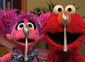 Elmo-abby-spoons