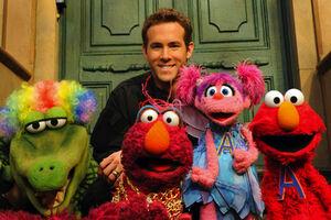 Ryan Reynolds Sesame Street