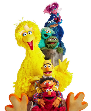 Season 50 sitting Muppets