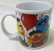 Sesame street general store mug 25 wonderful years anniversary 2