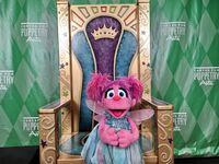 Center for Puppetry Arts - Grand Opening - Abby Cadabby 01