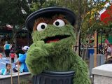 Oscar the Grouch walk-arounds