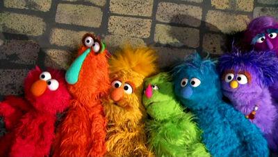 Rainbow-monsters
