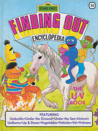 Sesame Street Finding Out Encyclopedia 14: The UV Book