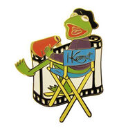 Directors chair disney pin