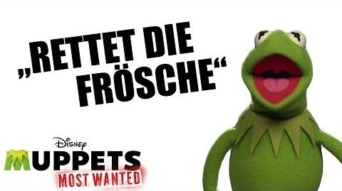 Rettet die Frosche Tag - MUPPETS MOST WANTED