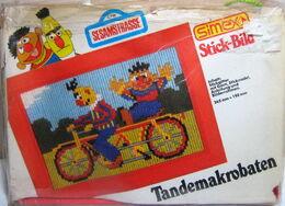 Simex 1988 stick-bild germany sesamstrasse ernie bert