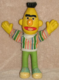Bendy toys uk 1980 bert sesame