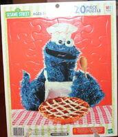 Milton bradley 2003 cookie frame tray puzzle