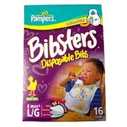 Pampersdisposablebibsbibsters