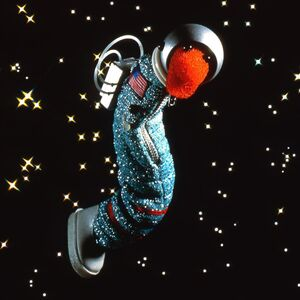 Slimey astronaut
