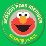 2017 Season Pass Member limited edition pin