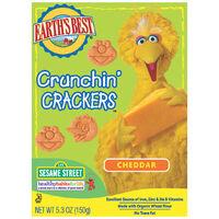 Cheddar Organic Crunchin' Crackers