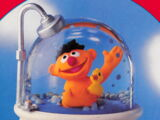 Sesame Street snow globes (Enesco)