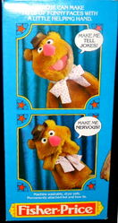 Fisher-price 1978 fozzie puppet 4